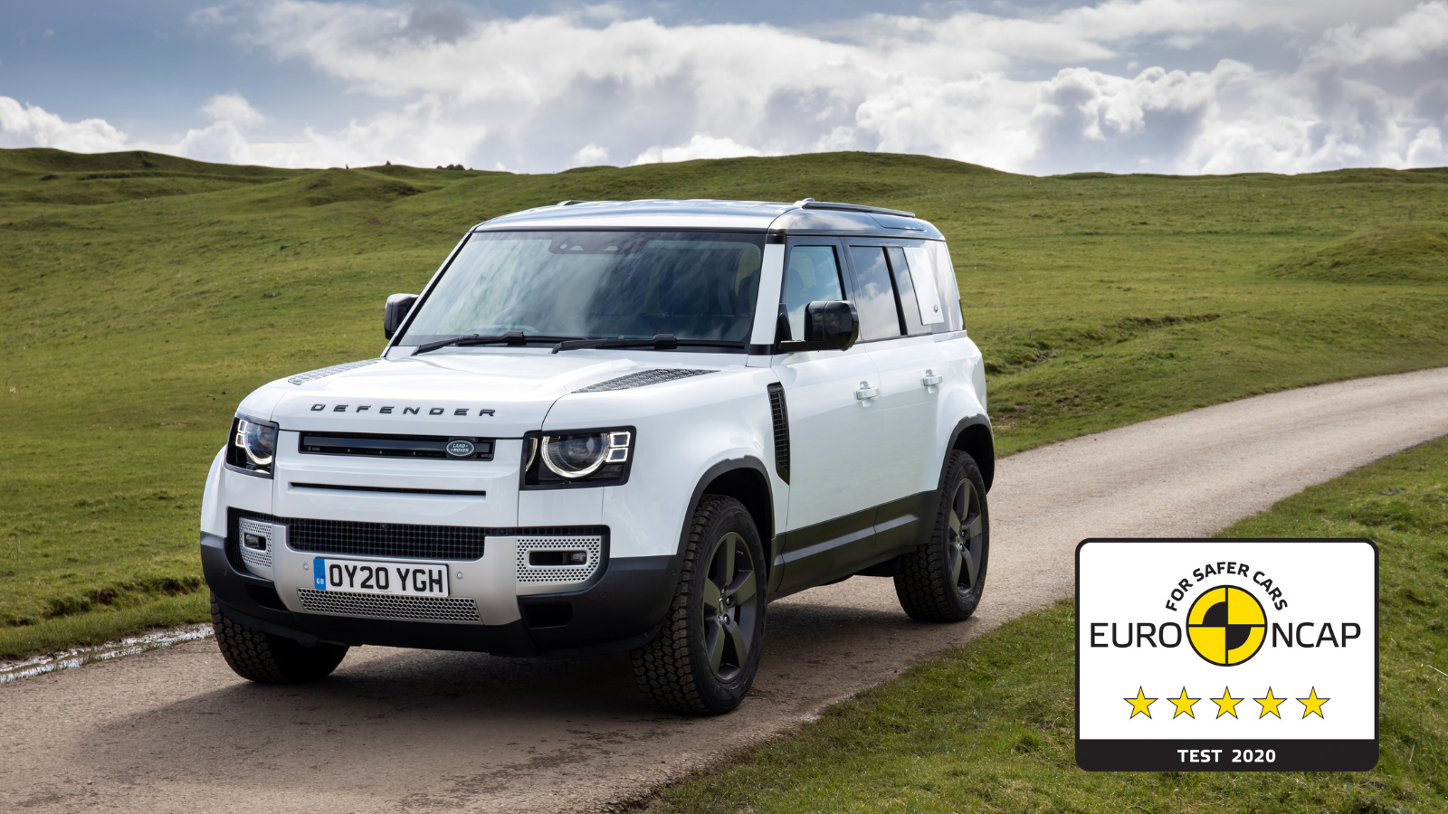 FIVE-STAR EURO NCAP SAFETY RATING FOR AWARD-WINNING NEW DEFENDER 110