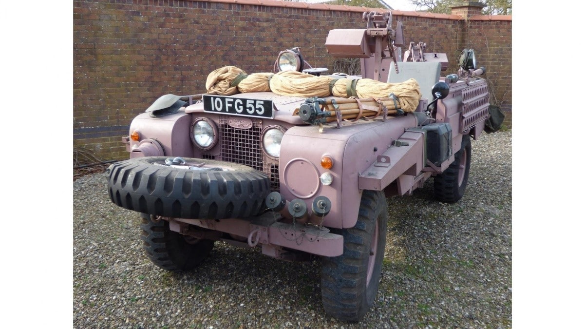 One of a kind SAS Pink Panther Land Rover Defender