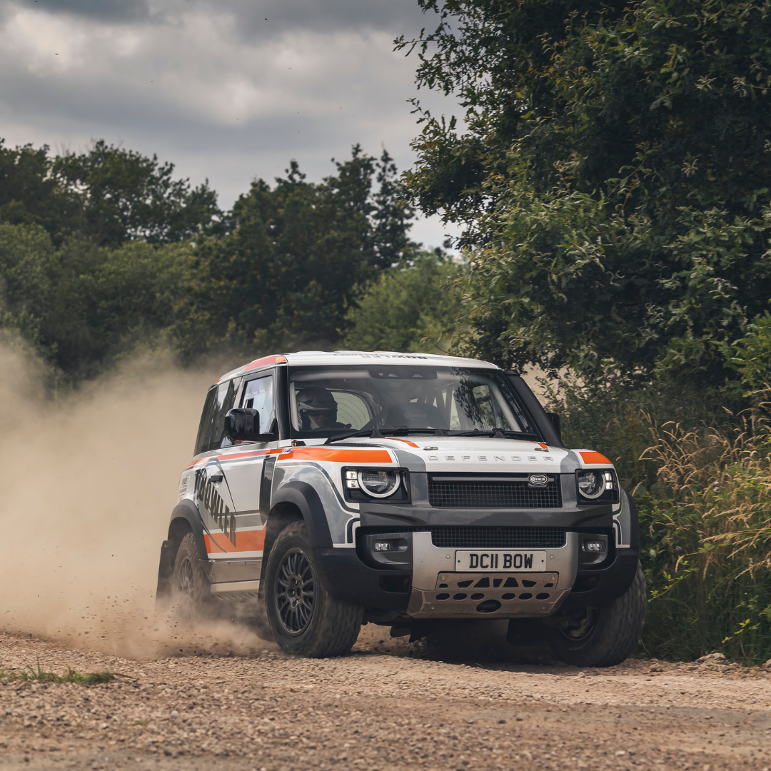 DEFENDER GOES RALLYING