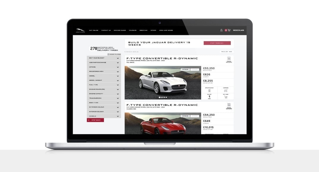 Buy Your New Car Online with Rockar
