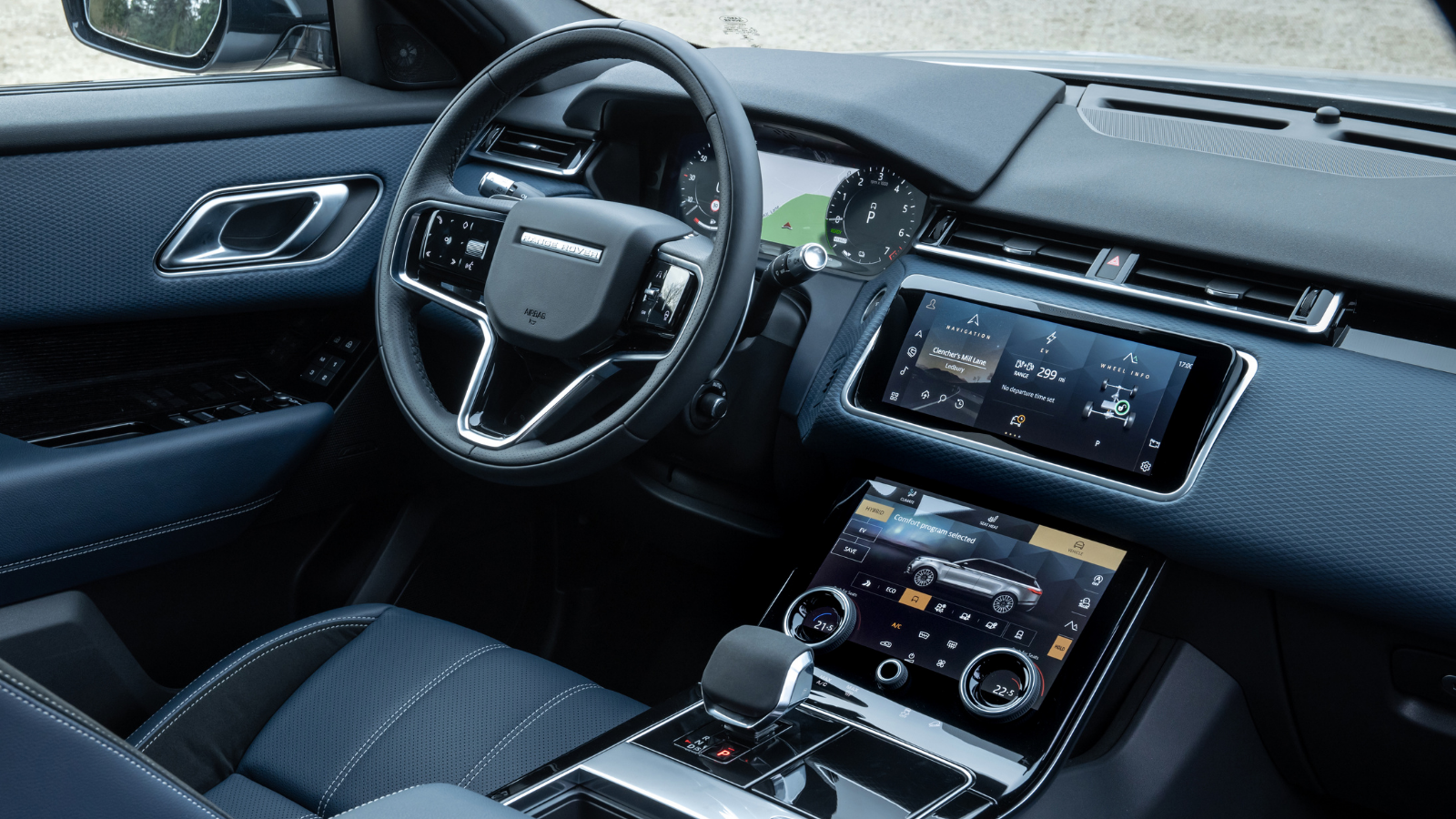 THE RANGE ROVER VELAR INTERIOR - TAKE A LOOK INSIDE